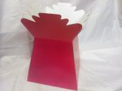 single CERISE pink living vase ideal 4 gift flowers or florist transport