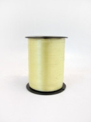 1 roll 5mm x 500m Curling Balloon Ribbon - LIGHT YELLOW for Gift Wrapping, Party Favours, Decoration, Florist, Floral & Craft work