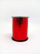 1 roll 5mm x 250m Curling Balloon Ribbon - METALLIC RED for Gift Wrapping, Party Favours, Decoration, Florist, Floral & Craft work