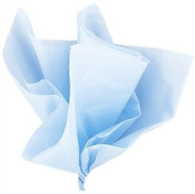 48 Sheets Acid Free Tissue Paper Roll 760mm x 510mm - LIGHT PALE BABY BLUE