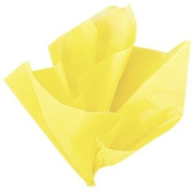 48 Sheets Acid Free Tissue Paper Roll 760mm x 510mm - YELLOW