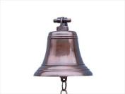 Antiqued Copper Bell 23cm