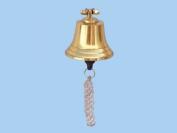 Brass Hanging Harbour Bell 10cm