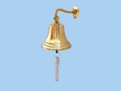 Brass Hanging Ship's Bell 15cm