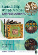 Stencil Girl - Mixed Media Sampler Journal