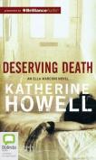 Deserving Death  [Audio]