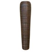 Decorative Tall Floor Vase - Wood - Height 90cm