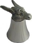 Great Gifts UK- Donkey Pewter Jigger - Dia:80mmH:110mm /Pewter