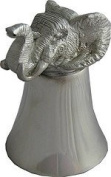 Great Gifts UK- Elephant Pewter Jigger - Dia:80mmH:110mm /Pewter