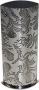 Great Gifts UK- Peacock Pewter Vase - H:160mm W:60mm