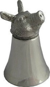 Great Gifts UK- Pig Pewter Jigger - Dia:80mmH:110mm /Pewter