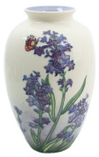 Old Tupton Ware Hand Painted Lavender Dream 20cm Vase