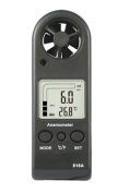 Handheld Anemometer Wind Speed Metre With Lanyard & Carry Case