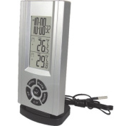 Smart Effects Technoline WS6659.5lz Alarm Clock and Temperature Station with Outdoor Sensor