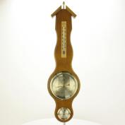 Oak Banjo Barometer Weather Station 20.1037.01