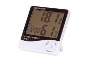 HTC-1 Digital LCD Display Max-Min Temperature Humidity Metre Hygrometer Clock