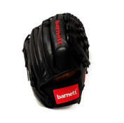 barnett GL-120 competition baseball glove, genuine leather, infield 12', black