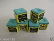 6 PIECES GREEN TRIANGLE CHALK **