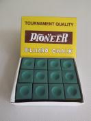 Pioneer Tornament Quality Green 12 Box Chalk