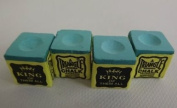 4 PIECES GREEN TRIANGLE CHALK **