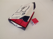 Snooker / Pool Chalk Red , box of 12 pieces