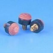 Peradon screw in snooker / pool cue tips - 50 x 10mm