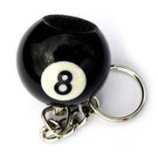 Homegames Snooker Pool Table Cue Tip Scuffer Keyring
