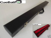 Black Hard Case for 2 Piece Cue