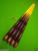 4 full size 140cm Pool Snooker Cue