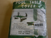 Snooker Table Cover, 3.7m, Green