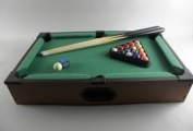 Pool table wooden 51 x 31 x 10 cm