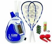 Speedminton Set S200 Racket Sports - Blue/White