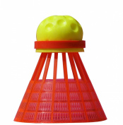 Speedminton Speedertube Fun Racket Sports - Orange/Yellow