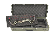 SKB Injection Moulded Double Bow/Short Rifle Case - Green