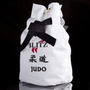 Blitz Sport Judo White Duffle Bag