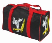 Cimac Karate, Taekwondo, Kickboxing Motif Martial Arts Holdall - Black/Red