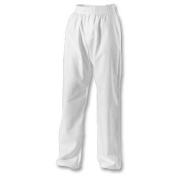 Karate White 100% Cotton Trousers