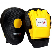 Focus Pads, Hook & Jab pads, Kick Pads, Curved Boxing Pads, Martial Arts, Yellow