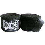 BLACK DUO Muay Thai Kickboxing Boxing Hand Wraps