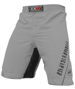 XXR MAXIMUS MMA Fight Shorts UFC Cage Fight Grappling Muay Thai Boxing Martial Ar Clothing Uniform Kickboxing GREY
