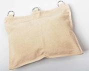 KUNG FU WALL STRIKE BAG Canvas Wall Bag 1 Section - White