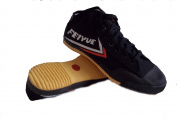 Feiyue Black Hi-Top Shoe
