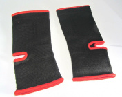 Thai-Boxing Anklets , Ankle Supports Red/Black Size Junior