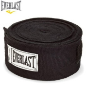 Everlast Boxing Hand Wraps Black 460cm
