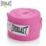 Everlast Boxing Hand Wraps Pink 270cm