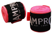 Ampro Stretch Boxing Hand Wraps 2.5m - Pink