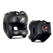 Proffessional Full Face Leather Boxing Head Guard