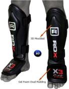 RDX MMA Shin Instep Guard Leg Pads Protective Gear Thai Boxing Training Kickboxing