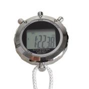 Vktech Chronograph Metal Digital Timer Stopwatch Waterproof