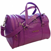 Ladies Dewberry Purple 41cm Head Bag, St Moritz Weekend Bag, Sports Holdall Gym Bag